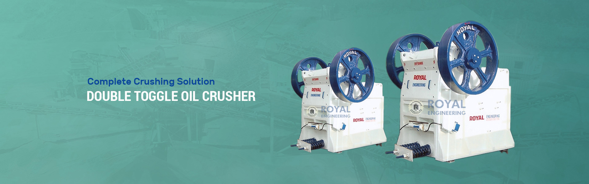 Crushing Plant Manufacturers in india